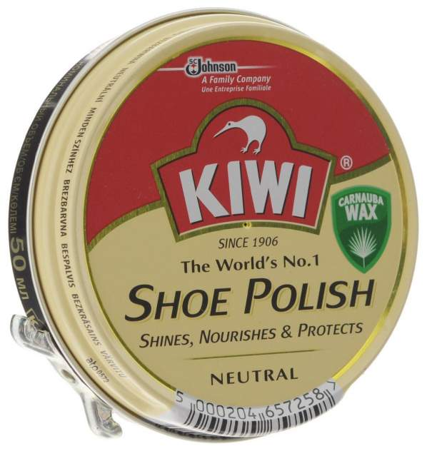 Крем для обуви Kiwi shoe polish бесцветный