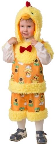 Карнавальный костюм JEANEES Цыпленок, цв. желтый р.104