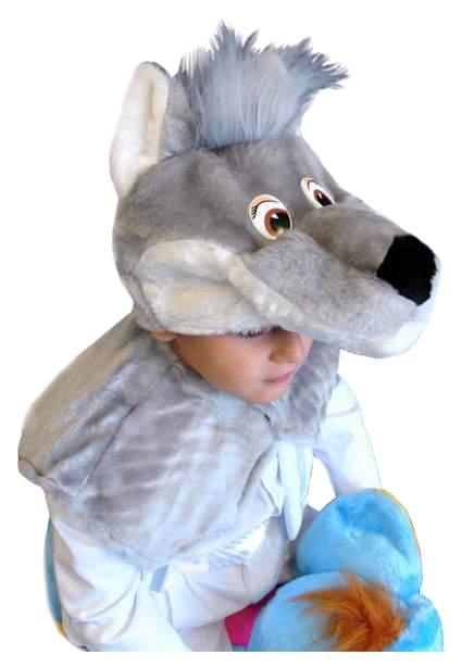 Карнавальный костюм Бока, цв. серый