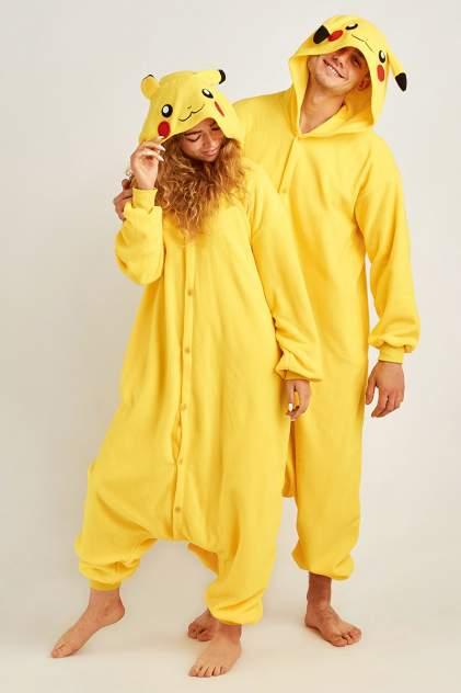 Пижама женская BearWear Пикачу разноцветная S