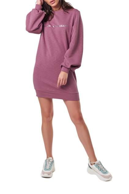 Платье женское Fly 895-09 фиолетовое 40 RU