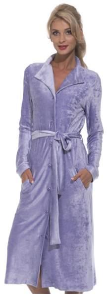 Халат женский Peche Monnaie De Soie, фиолетовый