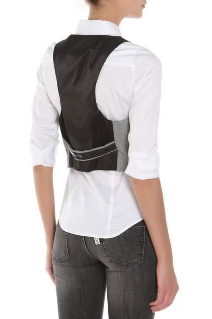Жилетка костюмная женская C'N'C Costume National TN6918 47952 V001 серая 38 IT