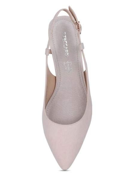 Туфли женские T.Taccardi 710018170 бежевые 37 RU