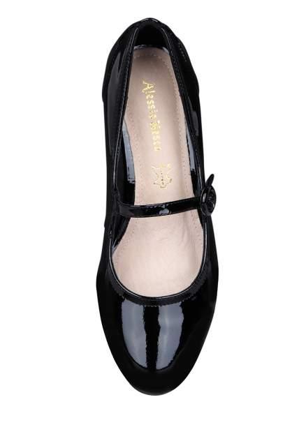 Туфли женские Alessio Nesca 00806510 черные 36 RU