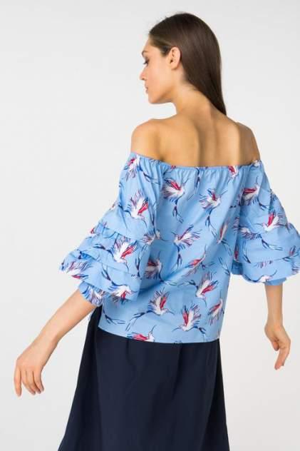 Блуза женская ZARINA 8225073303044 синяя 42 RU