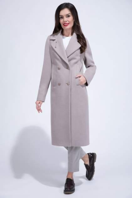 Пальто женское ElectraStyle 5-9023-128 бежевое 50 RU