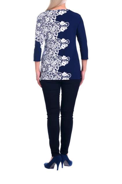 Блуза женская OLSI 1910004 синяя 52 RU