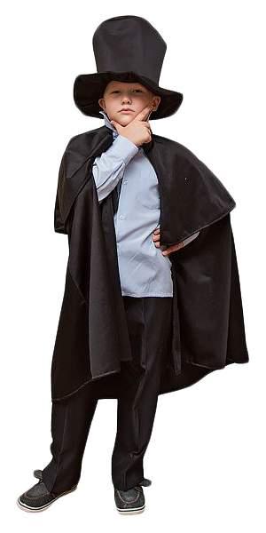 Карнавальный костюм Бока Денди, цв. черный р.116