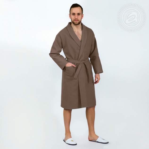 Халат банный (коричневый) мод. 011.16.11 раз L/XL