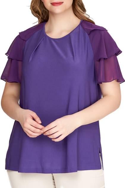 Блуза женская OLSI 1910020_3 фиолетовая 66 RU