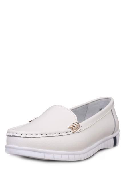 Мокасины женские Alessio Nesca Comfort 710018746 белые 40 RU