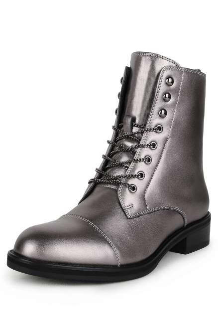Ботинки женские Pierre Cardin 710018538 серебристые 36 RU