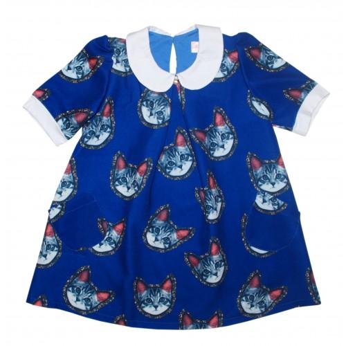 Платье детское Bon&Bon, цв.синий