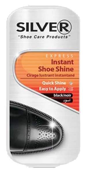 Мини-губка для обуви Silver мгновенный блеск