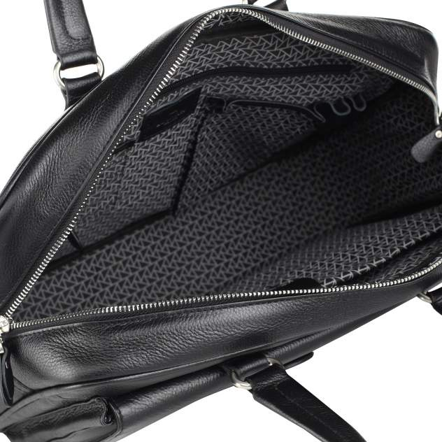 Портфель мужской кожаный Dr. Koffer B402647-220-04 черный