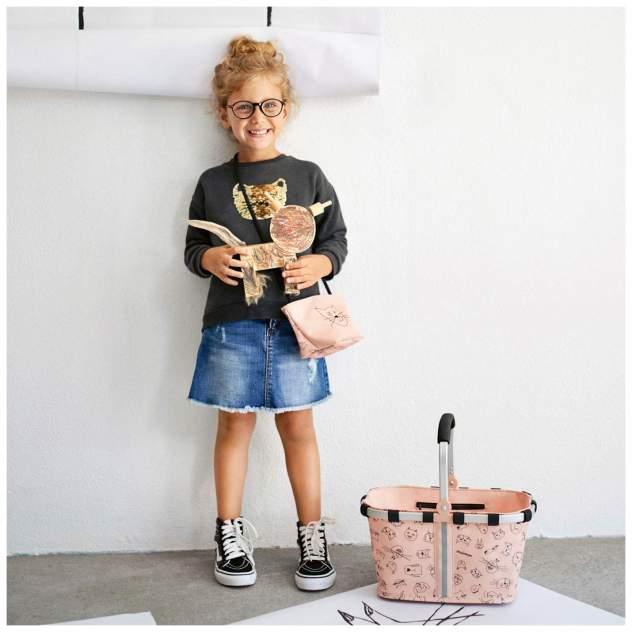 Сумка детская Reisenthel Minibag Cats and dogs rose для девочек Розовый IV3064