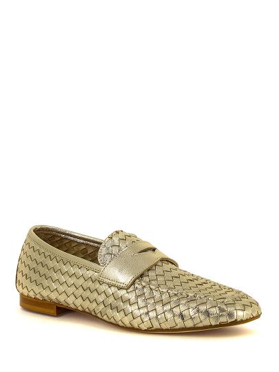 Лоферы женские Just Couture 81928 золотистые 36 RU