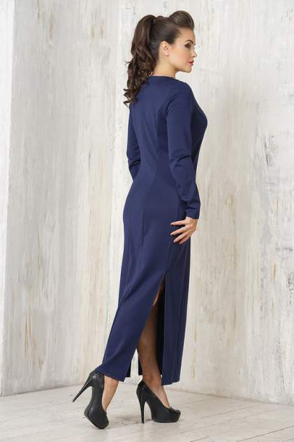 Платье женское VAY 3327 синее 48 RU