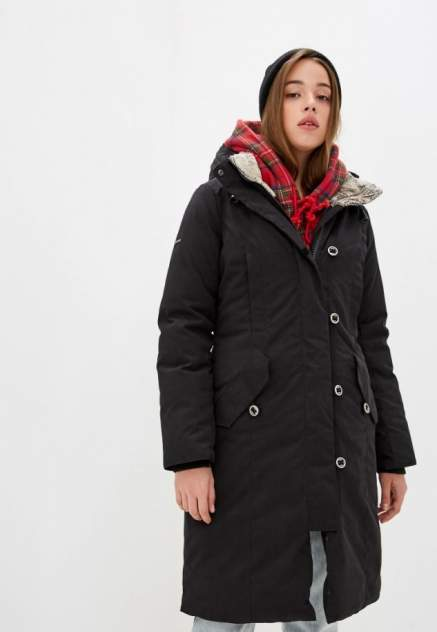 Пуховое пальто  HATANGA LADY 1464-9009-046 ЧЕРНЫЙ 46