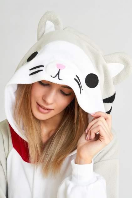 Пижама женская BearWear Котёнок разноцветная L