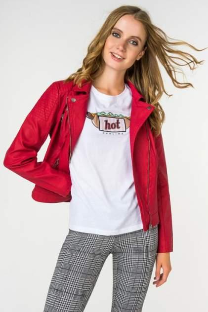 Куртка женская ONLY 15153315 красная 36 EU