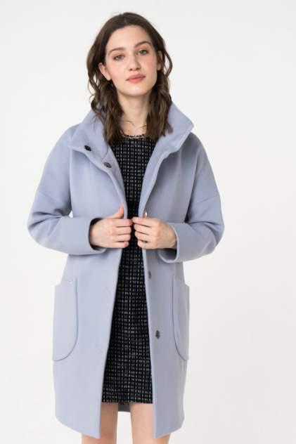 Пальто женское ElectraStyle 3-7007/10-128 голубое 48 RU