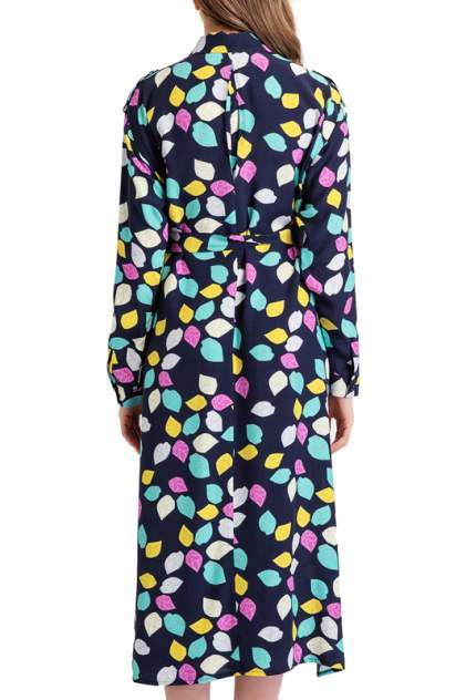 Платье женское BGN S19D149 синее 38 FR