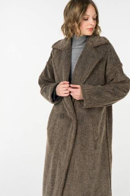 Шуба женская Ennergiia 18101020001 коричневая XS