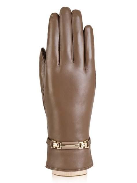 Перчатки женские Labbra LB-0306 коричневые 8