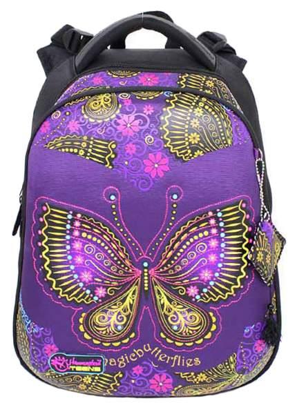 Ранец детский Hummingbird Magic butterflies для девочек Фиолетовый T85