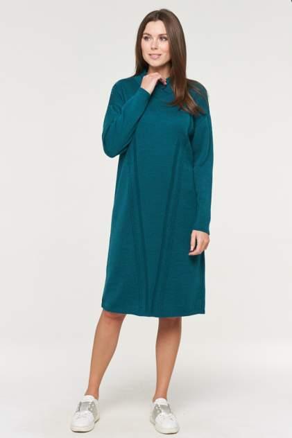 Платье женское VAY 182-2360 зеленое 52 RU