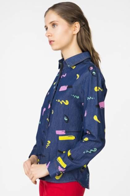 Женская джинсовая рубашка Marimay 703061, синий