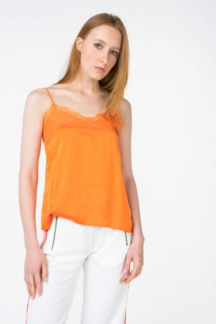 Топ женский ICHI 20108905 оранжевый L