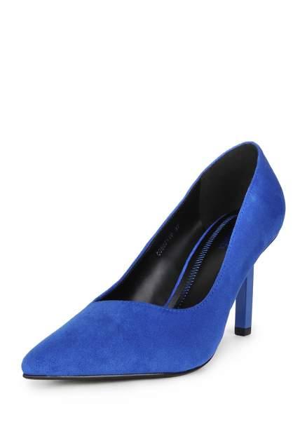 Туфли женские T.Taccardi 710018721 синие 39 RU