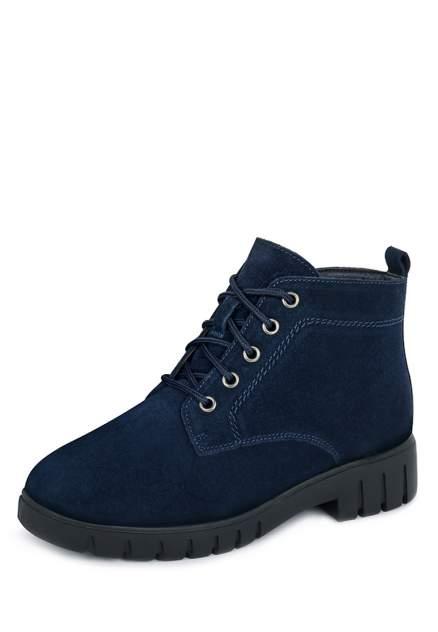 Ботинки женские Alessio Nesca 710018631 синие 36 RU