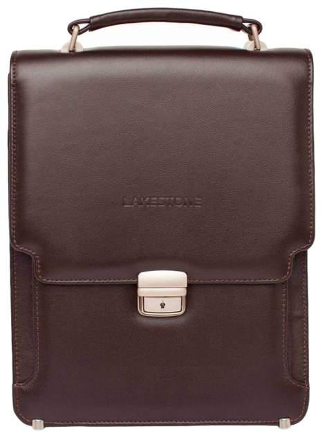 Портфель мужской кожаный Lakestone Gilbert 943020/BR коричневый