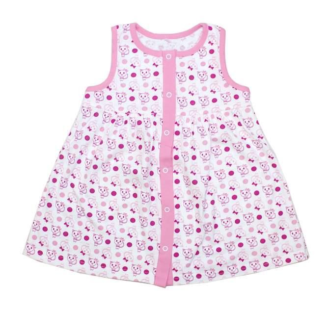 Платье для девочек Осьминожка 123-154-26/86 многоцветный р.86