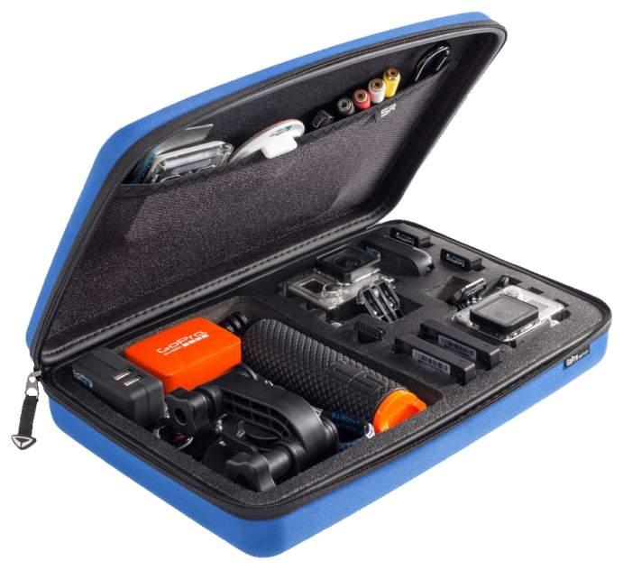 Кейс для экшн-камер SP POV Case GoPro-Edition 3,0 blue 52041