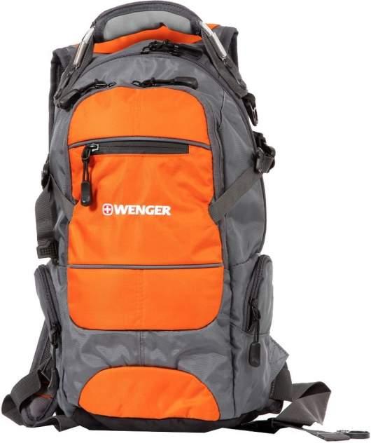 Рюкзак Wenger серый/оранжевый 22 л