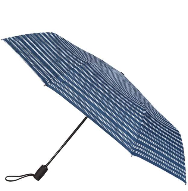 Зонт складной унисекс автоматический Eleganzza 01-00025900 синий