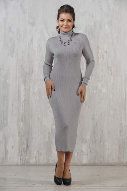 Платье женское VAY 2237 серое 44 RU
