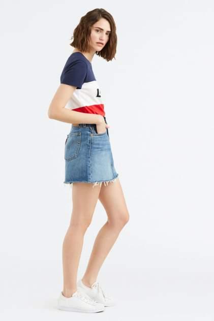 Юбка женская Levi's 3496300230 голубая 31 USA