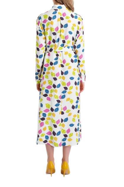 Платье женское BGN S19D149 белое 38 FR