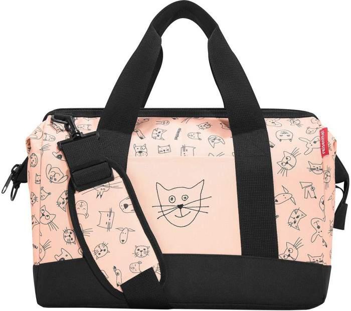 Сумка детская Allrounder M Cats and dogs розовая