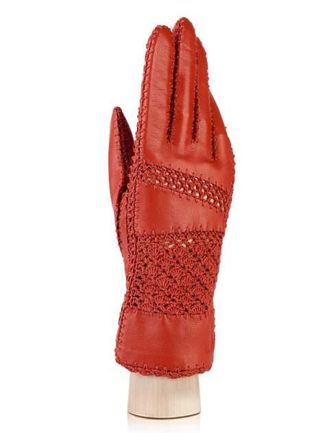 Перчатки женские Eleganzza F-IS0704 красные 6.5