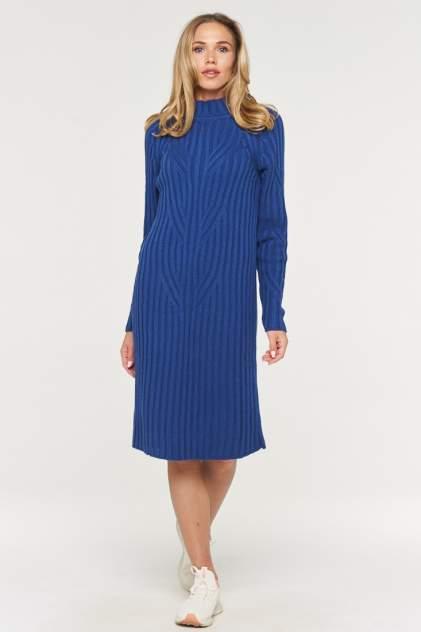 Платье женское VAY 192-2340 синее 52 RU