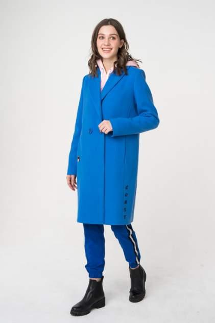 Пальто женское ElectraStyle 3-6061/1-128 голубое 42 RU