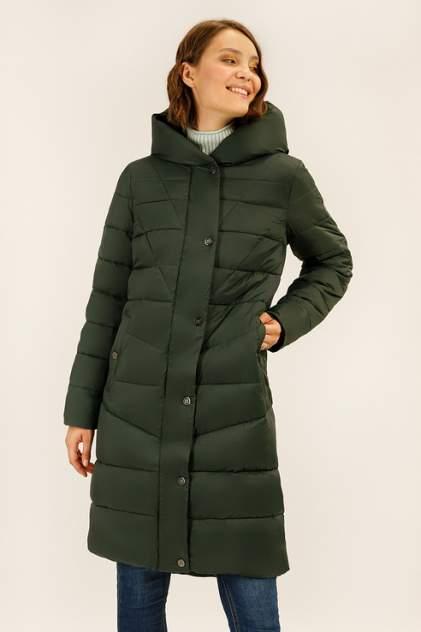 Пуховик-пальто женский Finn Flare A19-12038 зеленый L