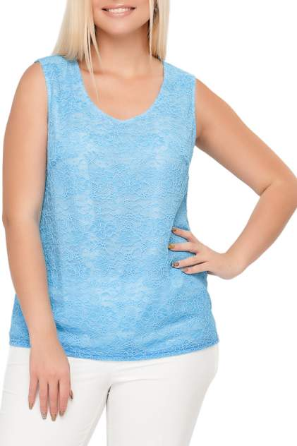 Топ женский Limonti 730202-1 голубой 52 RU